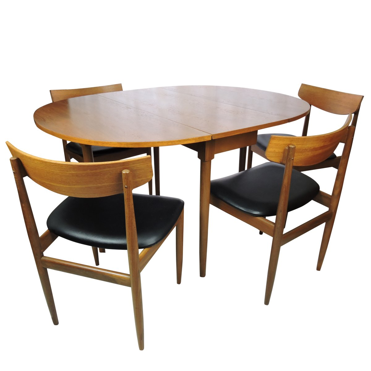 Vintage Dining Table Chairs Plan  Sale Pamono