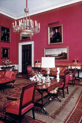 Red Room At The White House, 1962