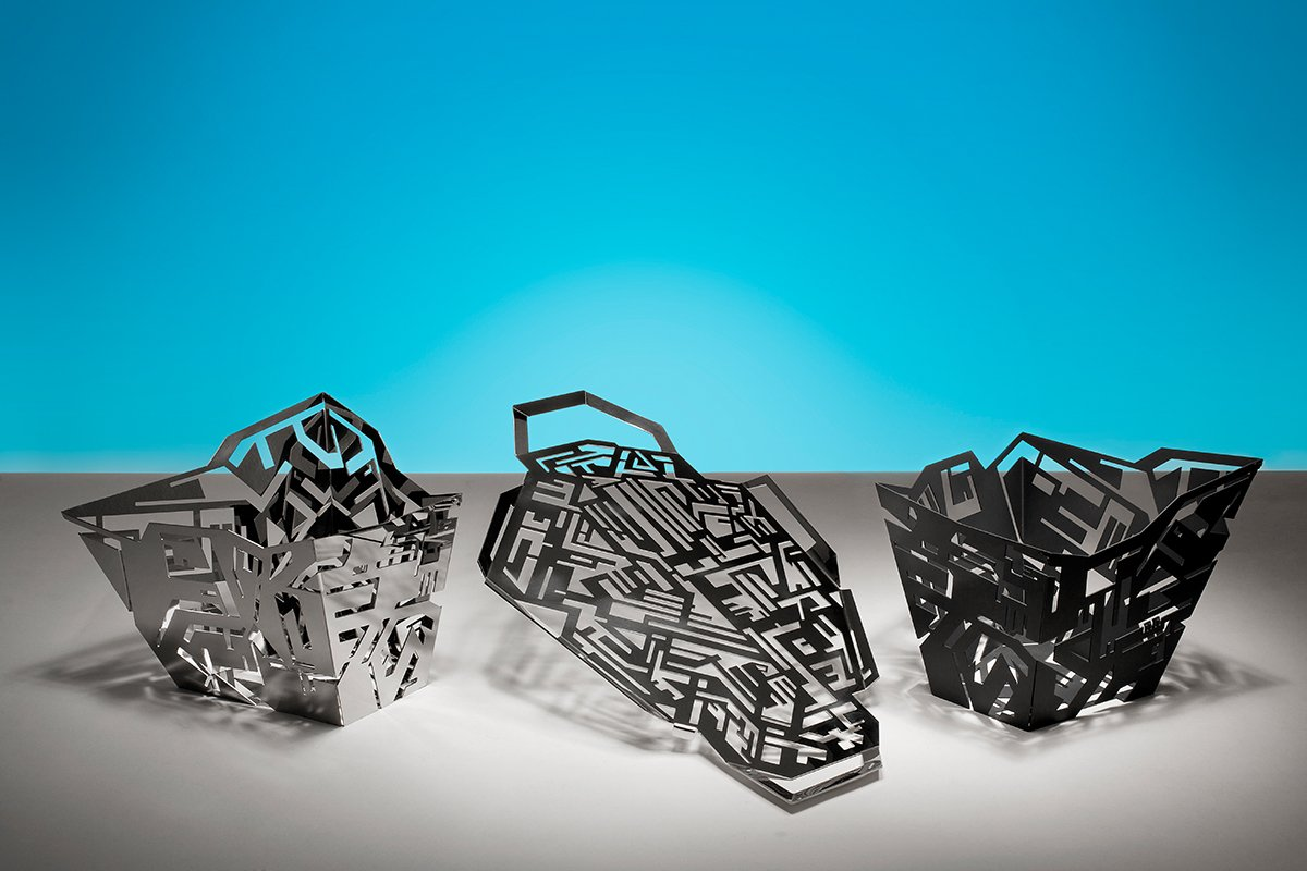 Hellraiser Tabletop Collection By Karim Rashid For Alessi (2011)