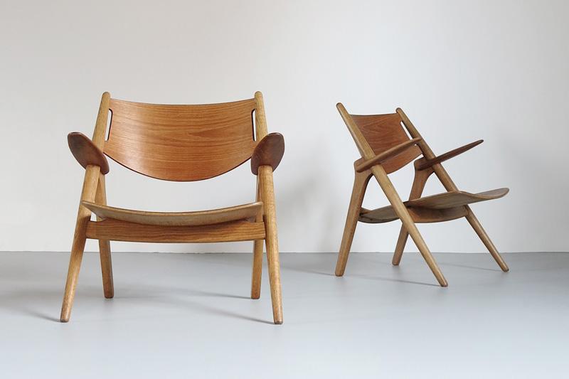 Sawbench Chairs, designed 1951, Made by Carl Hansen & Son, © Dansk Møbelkunst