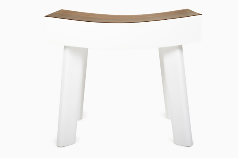 An homage to an iconic midcentury design by Enzo Mari, the Ipe Stool is a collaboration between Peter Mabeo's Botswana studio and Venetian designer Luca Nichetto.