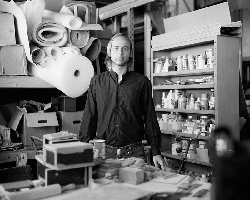 Alexander Pelikan portrait by Boudewijn Bollmann. Photo courtesy of the designer.