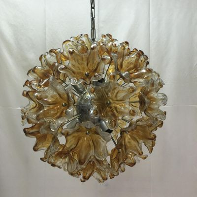 Vintage Italian Murano Glass Pendant Lamp 2