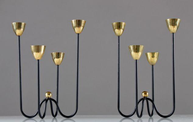 Kerzenständer Metall kerzenständer gunnar ander für ystad metall 2er set bei pamono