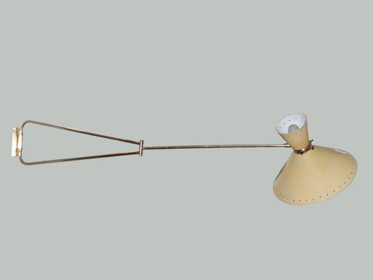 Diabolo swing arm wall light by rene mathieu for lunel 1950s for diabolo swing arm wall light by rene mathieu for lunel 1950s 1 mozeypictures Image collections