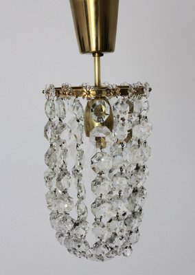 Austrian crystal and brass chandelier from bakalowits shne 1950s austrian crystal and brass chandelier from bakalowits shne mozeypictures Choice Image