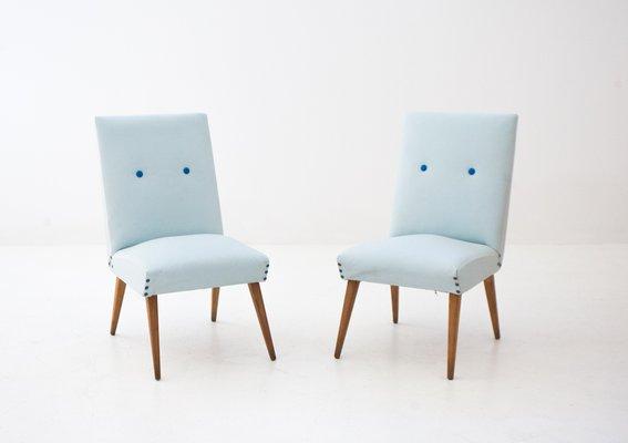 Schwedische Mid Century Skai Lounge Stühle, 2er Set 1