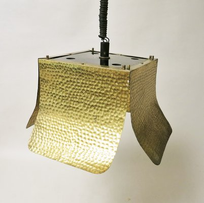Table lamp · italian hammered br hanging lamp 1960s 7