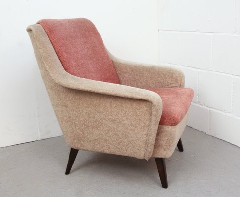 High Quality Two Tone German Pink Armchair, 1950s 2