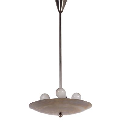 Dutch Pendant Lamp By WH Gispen 1930s 1
