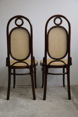 Superb Art Nouveau Bentwood Dining Chairs From Salvatore Leone, Set Of 2 3