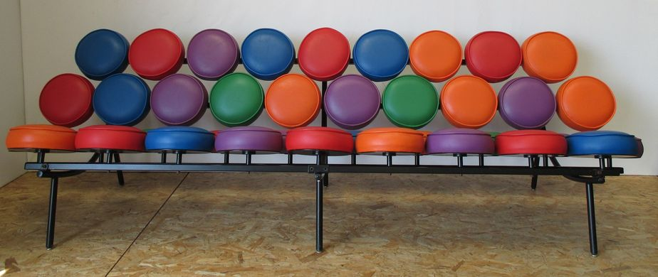 American Marshmallow Sofa By Georg Nelson For Herman Miller, 1990 2
