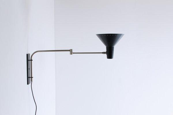 Lampada da parete con braccio flessibile demetra professional