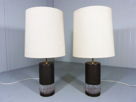 Vintage glass table lamps set of 2 en venta en pamono vintage glass table lamps set of 2 imagen 1 aloadofball Choice Image