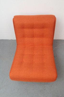 Vintage German Orange Lounge Chair 13