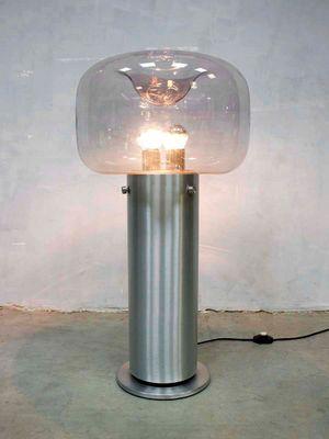 German Floor Lamp by Glashütte Limburg, 1970s for sale at Pamono