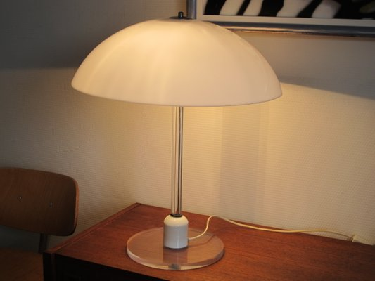 Vintage Lucite Table Lamp from Harco Loor for sale at Pamono