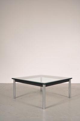 Tavolino da caffè in metallo e vetro di Le Corbusier per Cassina ...