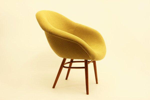 Wonderful Fiberglass Shell Chair, 1960s 1