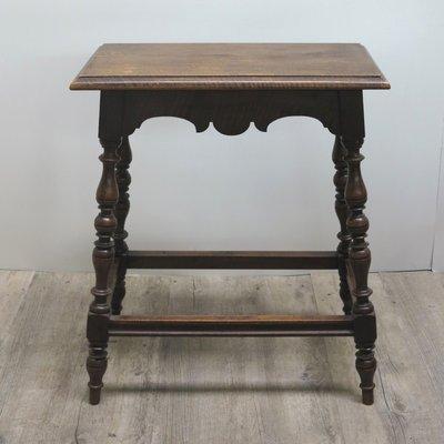 Antique German Gründerzeit Side Table 1