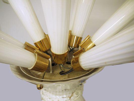 Lampade In Vetro Soffiato : Lampada da soffitto trumpet in vetro soffiato a mano anni in