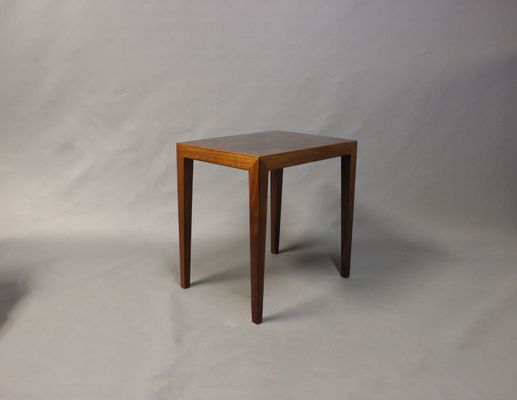 Good Small Danish Side Table By Severin Hansen For Haslev, 1960s 1