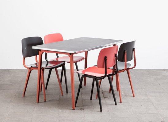 Revolt Stühle & Reform Tisch Esszimmer Set von Friso Kramer für ...