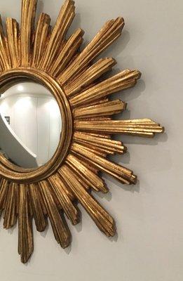 Vintage Convex Resin Sun Mirror 2