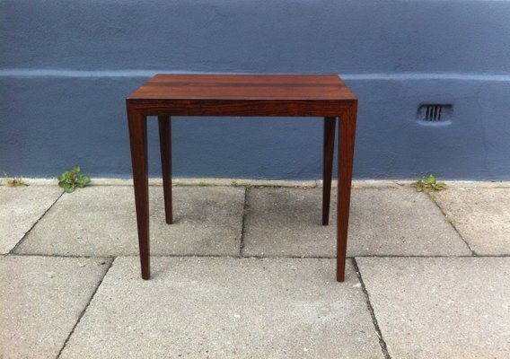 Superb Mid Century Danish Rosewood Coffee Table By Severin Hansen Jr. For Haslev,  1960s