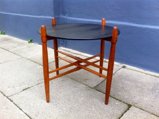 Amazing Mid Century Danish Teak U0026 Formica Side Table By Poul Hundevad For PJ  Furniture,