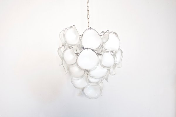 Modernist italian murano glass chandelier from mazzega for sale at modernist italian murano glass chandelier from mazzega 2 aloadofball Choice Image