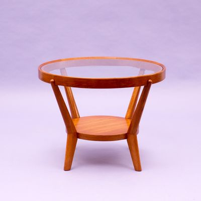 Light Oak Coffee Table By Kozelka U0026 Kropacek, ...