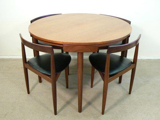Captivating Dining Table Set By Hans Olsen For Frem Rojle, 1960s 1