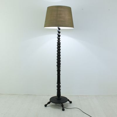 Vintage wooden floor lamp 1900s for sale at pamono vintage wooden floor lamp 1900s 4 aloadofball Image collections