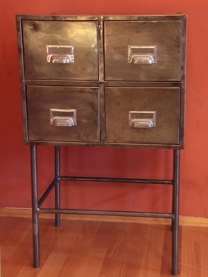 londoner kinfolk furniture industrial drawers of chests storage drawer chest