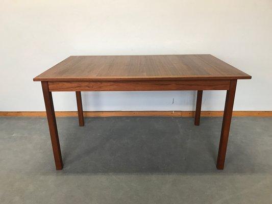 Vintage Scandinavian Teak Dining Table By Nils Jonsson 1