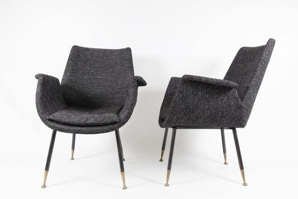 Small Armchairs By Gastone Rinaldi For RIMA, 1956, Set Of 2 1