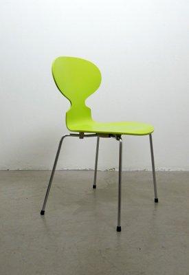 Amazing Best Chaise Fourmi Verte Par Arne Jacobsen Pour Fritz Hansen S With