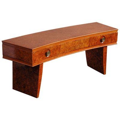 Italian Art Deco Console Table 1935 1
