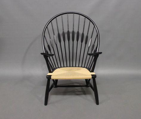 Vintage Peacock Chair By Hans J. Wegner, 1980s 1