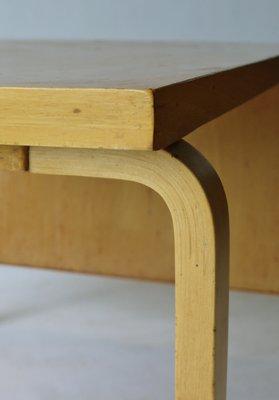 Drop Leaf Extendable Dining Table By Alvar Aalto For Artek, 1940s 10