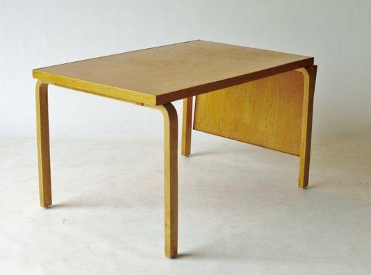 High Quality Drop Leaf Extendable Dining Table By Alvar Aalto For Artek, 1940s 1