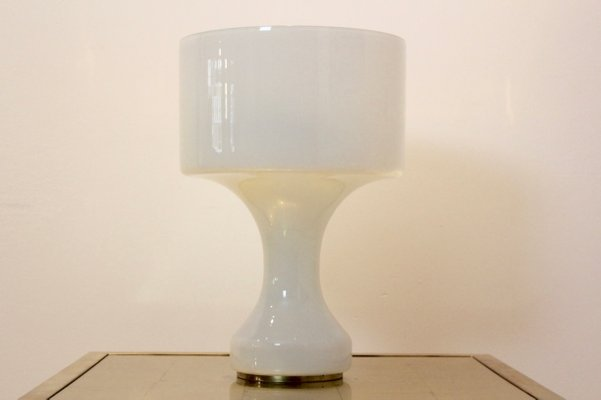 Snow white murano glass table lamp from venini 1960s for sale at pamono snow white murano glass table lamp from venini 1960s 1 mozeypictures Image collections