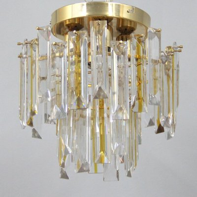 Vintage italian murano glass ceiling light 1