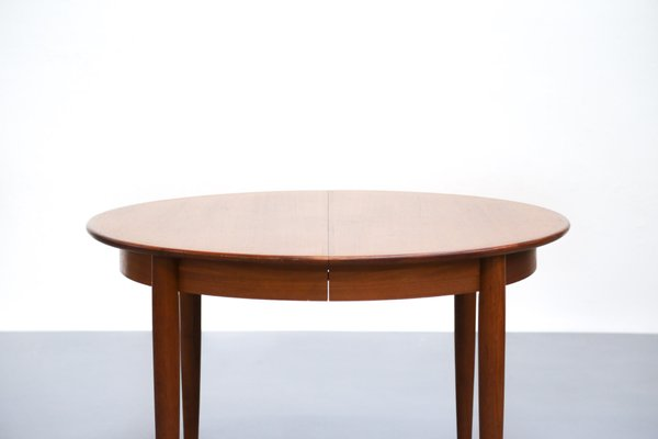 Scandinavian Teak Dining Table With Extension Leaves 3