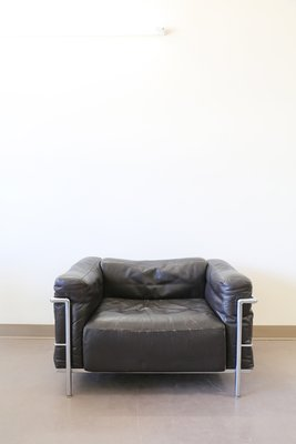 Vintage LC3 Grand Confort Lounge Chair By Le Corbusier For Cassina 1