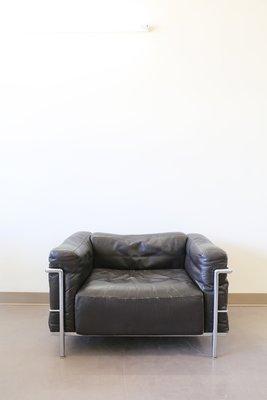 Vintage LC3 Grand Confort Sessel von Le Corbusier für Cassina bei ...