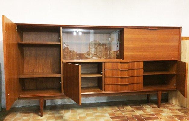 Credenza con vetrina di AARNØ, Scandinavia in vendita su Pamono