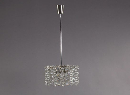 Austrian crystal glass and nickel chandelier pendant light from austrian crystal glass and nickel chandelier pendant light from bakalowits shne aloadofball