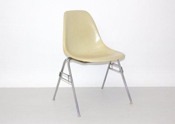 Vintage Model DSS N Fiberglass Chair By Ray U0026 Charles Eames For Herman  Miller 1